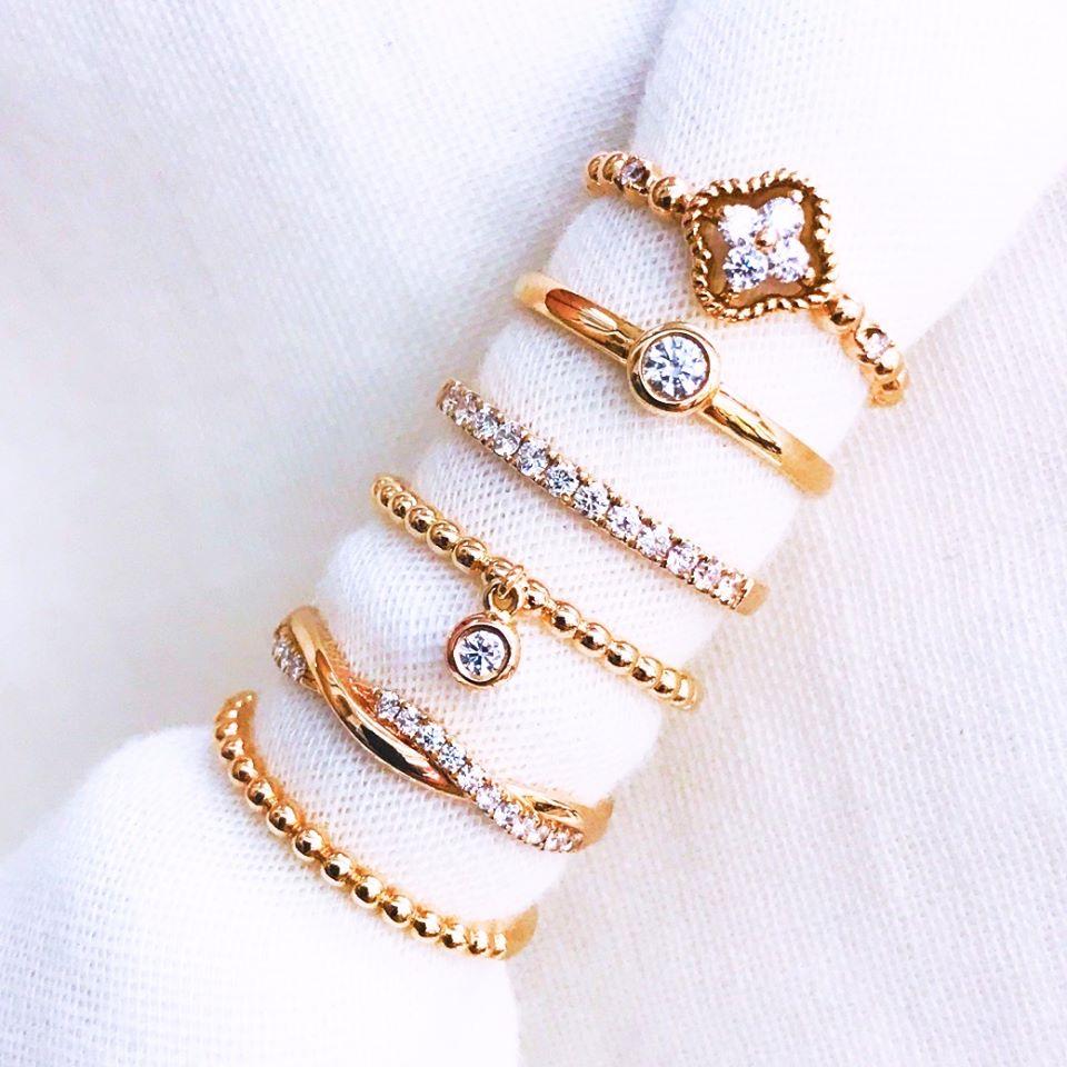 鑽石婚戒,時尚黃金套組,情人對戒,頂級時尚戒台,鈦鍺手鍊,彌月黃金飾品,, - 迪雅珠寶鑽石婚戒 作品瀏覽
