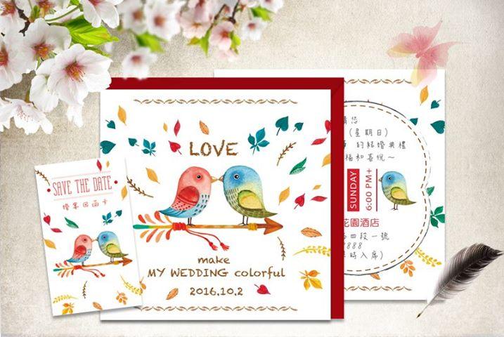 喜帖謝卡,婚禮小物,,,, - 幸福時光-精緻婚卡 作品瀏覽