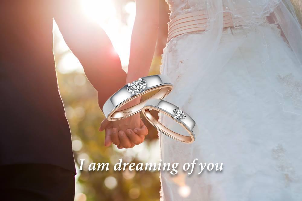 鑽石婚戒,,,,,,, - 世紀白金-鉑金婚戒首選品牌 作品瀏覽